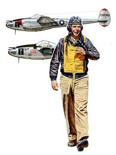XXXX XXXXX XXXXX XXXXX XXXXX XXXXX XXXXX XXXXX XXXXX XXXXX Lockheed P-38J-15-LO Lightning 'Marge' del As Mayor Richard Ira Bong ~ BFD