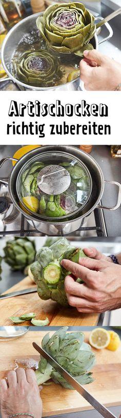#Artischocken zubereiten ist gar nicht schwer. Mit einigen Kniffen, Tricks und etwas Zitrone holst du das Beste aus dem Gemüse heraus. Außerdem: Von den Blättern bis zum Boden erklären wir dir, was - und vor allem wie du Artischocke essen kannst.
