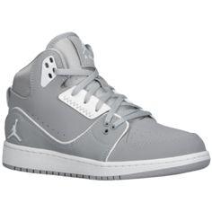 release date: dae71 320ec Jordan 1 Flight 2 - Boys  Grade School - Wolf Grey White Cute Jordans
