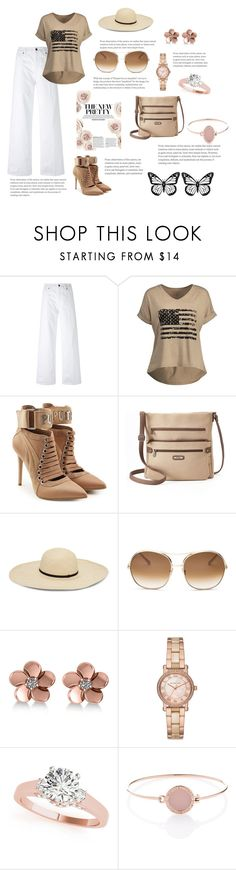 """Something new 2"" by foxxyslang ❤ liked on Polyvore featuring Vince, Puma, MultiSac, Chloé, Allurez and Michael Kors"