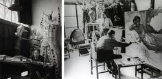 100 Famous Artists And Their Studios - Diego Rivera