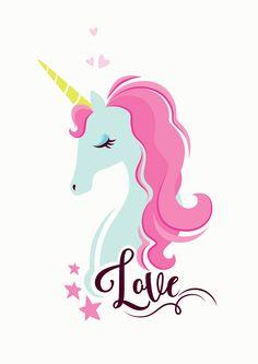 Unicorn Pink-kids print on canvas, print on wood, print on steel or print on paper Unicorn Farts, Happy Unicorn, The Last Unicorn, Unicorn Horse, Cute Unicorn, Rainbow Unicorn, Unicorn Painting, Unicorn Drawing, Iphone Wallpaper Quotes Funny