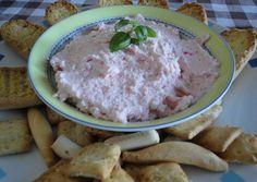 Dip rápido de cangrejo Deli, Hummus, Oatmeal, Pudding, Cheese, Chicken, Breakfast, Ethnic Recipes, Desserts
