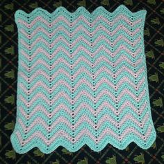 Ravelry: Baby Ripple Afghan pattern by Tiffany Roan