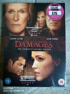 Damages Complete Second Series Season 2 New Sealed