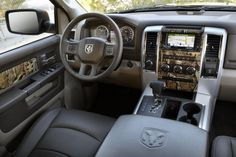2012 Dodge Ram 1500 Mossy Oak Edition Interior