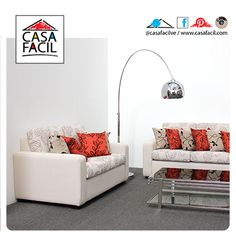 Muestra la elegancia de tu sala incluyendo el sofá modelo Alexandra.
