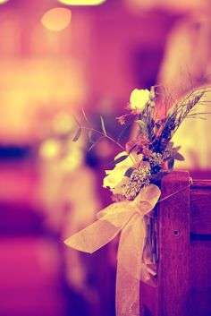 Wild flowers for a country wedding!