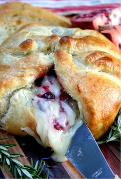 Sweet and Savory Baked Brie ...one of these days...one of these party seasons...