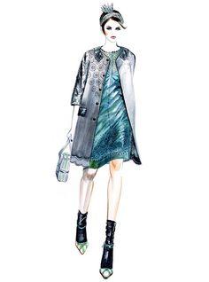 Sunny Gu Fashion Illustrations