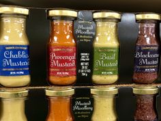 Wonderful set of authentic French Dijon mustard. Great gift idea!