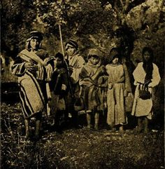 People of Northern Palestine (Nablus area) early 20th century