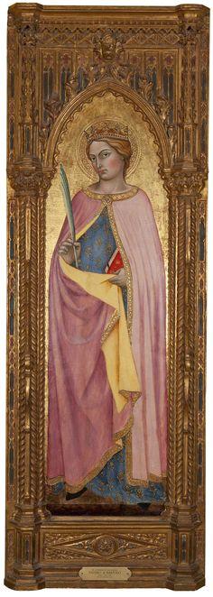 Saint Catherine of Alexandria 1418 Bartolo Taddeo di  New Orleans Museum of Art