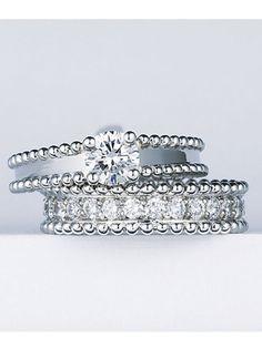 ヴァン クリーフ&アーペル(Van Cleef & Arpels) 銀座本店 クラシカルでフェミニン。甘い気品が花嫁を魅了