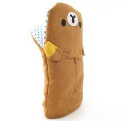 San-X Rilakkuma Kitchen Glove!!its useful too!:3 So cute and kawaii.