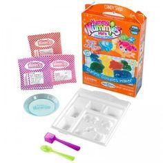 The Yummy Nummies Mini Kitchen Magic Gummy Goodies Maker lets kids make their own gummy animal treats.