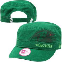 New Era Baltimore Ravens St. Patrick's Day Women's Military Hat - $17.09