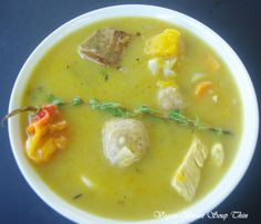 In Barbados we love soup too but we put some life in our soup. #SouthGapHotel http://on.fb.me/17smUl5