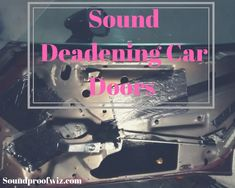 In this article you will learn how to install sound deadening material on your car doors. Some Pictures, Taking Pictures, Soundproofing Material, Car Sounds, Dodge Dakota, Take Apart, Sound Proofing, Diy Door, Get The Job