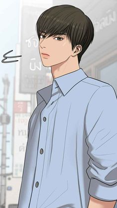 ซูโฮ Suho, The Secret, Real Anime, My Romance, Cute Girl Wallpaper, Digital Painting Tutorials, Webtoon Comics, Handsome Anime Guys, Anime Love Couple