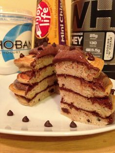Cookies and cream protein pancakes