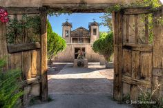 Santuario de Chimayo, New Mexico, USA ~ This place is very spiritual and in such a scenic location.
