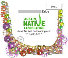 Drought Resistant Tolerant Designs Texas Native Plants How to  Install Xeriscape_Austin