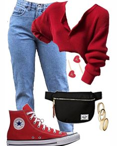 Image in outfits 9 collection by vodkabitchess Komplette Outfits, Teen Fashion Outfits, Girly Outfits, Retro Outfits, Punk Fashion, School Outfits, Polyvore Outfits Casual, Teen Swag Outfits, Fashion Dresses