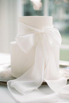 Luxury Wedding Cake, White Wedding Cakes, Elegant Wedding Cakes, Elegant Cakes, Timeless Wedding, Wedding Cake Designs, Wedding Ribbons, Old World Wedding, Our Wedding