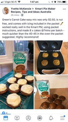 Mini Pie Recipes, Waffle Maker Recipes, Cooking Recipes, Bar Recipes, Delicious Recipes, Recipies, Yummy Food, No Bake Desserts, Dessert Recipes