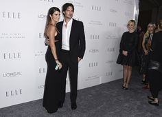 Ian Somerhalder and Nikki Reed arrive at the 24th annual ELLE Women in Hollywood Awards at the Four Seasons Hotel Beverly Hills on Monday, Oct. 16, 2017, in Los Angeles.