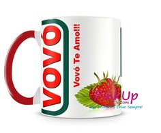 Caneca Vovó Cool Mugs, Unique Coffee Mugs, Funny Coffee Mugs, Coffee Love, Coffee Quotes, Kitchenware, Tableware, Iphone Wallpaper, Tea Cups