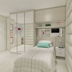 curtidas, eight comentários – Studio Reside Design (Gail Mounier.dwell) no Insta… Design Room, Bedroom Closet Design, Small Bedroom Designs, Small Room Bedroom, Modern Bedroom, Wardrobe Design, Bedroom Decor For Teen Girls, Home Decor Bedroom, Unique Teen Bedrooms