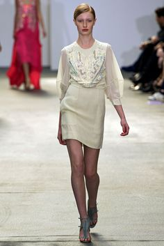 Antonio Berardi Spring 2013 Ready-to-Wear Fashion Show - Stephanie Hall