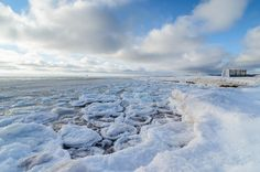 A cold spring morning on Lake Superior with unique pancake ice floating in the harbor. Upper Peninsula, Lake Superior, Winter Scenes, Pancake, Nature Photos, Michigan, Ice, Cold, Gallery