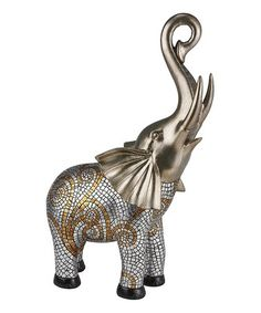 Another great find on #zulily! Theos Decorative Elephant #zulilyfinds