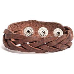 Roots Navajo Bracelet ($28) ❤ liked on Polyvore