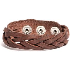 Roots Navajo Bracelet ($28) ❤ liked on Polyvore