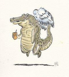 Give an alligator its wings✌️  #grav3yardgirl