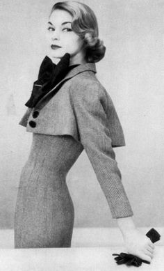 Not sure we could get away with wearing it now, but still timeless -- 50's…