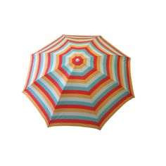 null 7 ft. Beach Patio Umbrella in Stripe