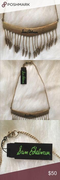 Sam Edelman Necklace On trend and boho chic! New and in perfect condition. Retails for $75.00! Sam Edelman Jewelry Necklaces