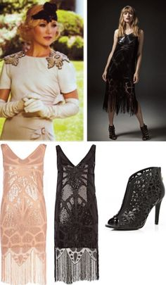1920's 'The Great Gatsby' dresses and styles
