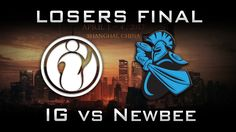 IG vs Newbee Losers Final DAC 2017 Highlights Dota 2