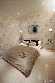Modern minimalist bedroom design home decoration