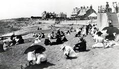 The sand at Porthcawl pictured in 1910