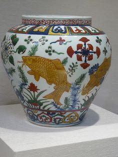 Jar Ming Dynasty Jiajing mark and period 1522-1566 CE porcelain China