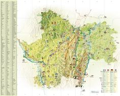 Auvergne tourist map Maps Pinterest Tourist map Auvergne and
