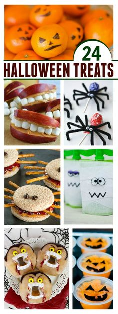 EASY & ADORABLE HALLOWEEN TREAT IDEAS FOR KIDS- great for class parties and…