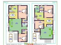 Gallery of Feet Single Floor Low Budget Home With Plan In Kerala Trends Tamil Nadu House Plans Sq Picture Duplex House Plans North Facing North f 2bhk House Plan, Narrow House Plans, Model House Plan, Duplex House Plans, New House Plans, Dream House Plans, House Floor Plans, North Facing House, West Facing House
